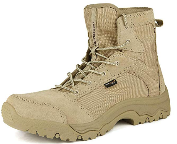 FREE SOLDIER Desert Boots image