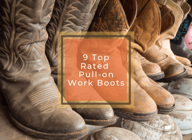 best pull on work boots featured image