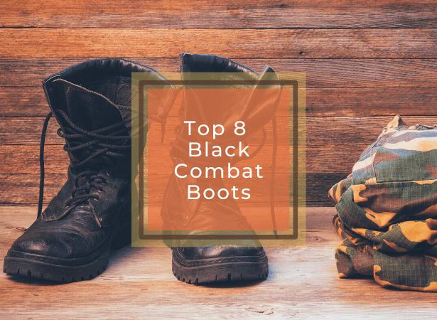 Best Black Combat Boots image