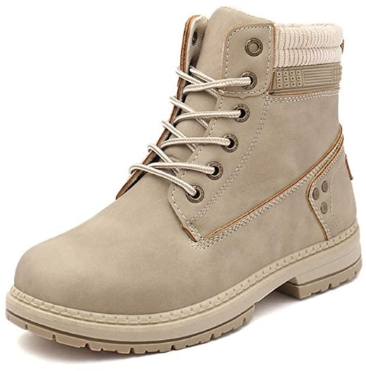 Uttse Outdoor Lace-Up Ankle Work Boots image