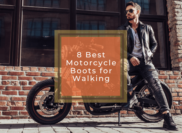 best motorcycle boot for walking image