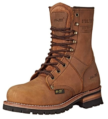 Adtec Work Boots steel Toe Logger image-min