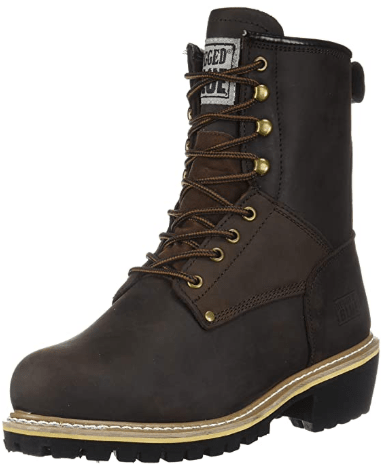 Rugged Blue Pioneer II Logger Boot image
