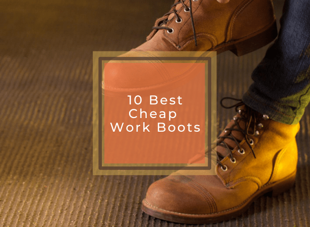 best cheap work boots image